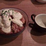 食評☆3 麦のとき至 (むぎのときいたる)  鶏竜田梅タルタル+肉増し900円 | 新横浜の唐揚げがメインの落ち着いた居酒屋