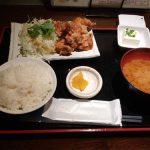 食評☆3 海風  (うみかぜ) 「鶏肉の梅ソース和え定食 630円」 | 横浜の日本大通り駅すぐの手頃な居酒屋