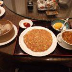 食評☆3 梅蘭 (バイラン) キュービックプラザ新横浜店「梅セット 1380円」| 名物の堅焼きそばの「梅焼きそば」を堪能